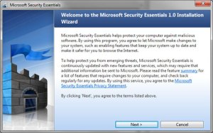 microsoft security essential