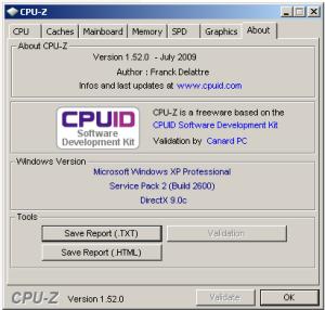 CPUZ 1