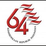 Logo hari kemerdekaan ke 64