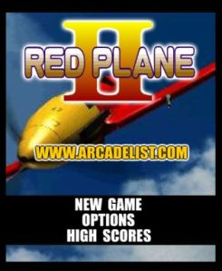 red plane game