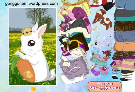Baby rabbit dress