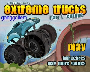 The monster trucks have returned. Drive them through water, snow, dirt