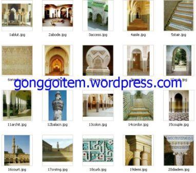 gambar arsitektur masjid