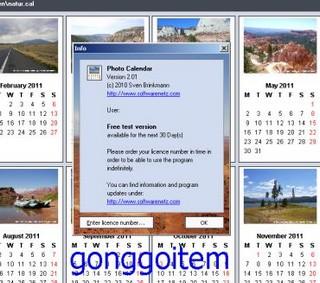 Foto calendar 2010