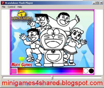 Doraemon coloring